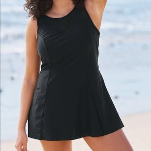 Swimsuits For All NWT Mesh-Trim Swimdress, 14